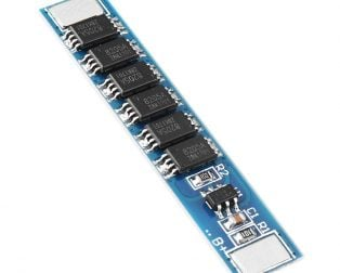 1S 10A 3.2V BMS Battery Protection Board for LiFePo4 Cell