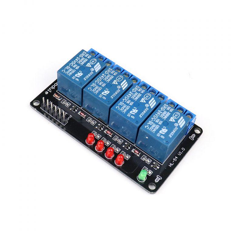 24V 4 Channel Relay Module