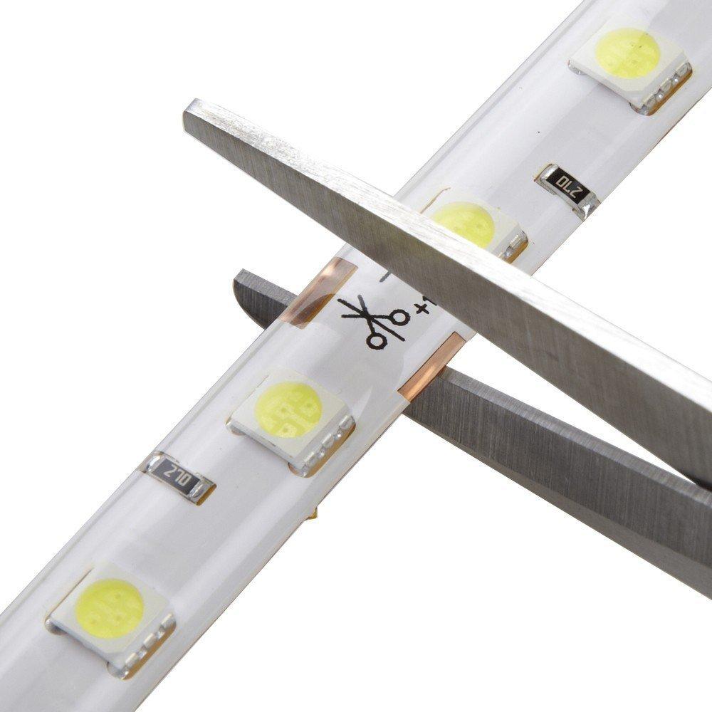 24V Warm White 5050 SMD 5Meter LED Strip-1Meter