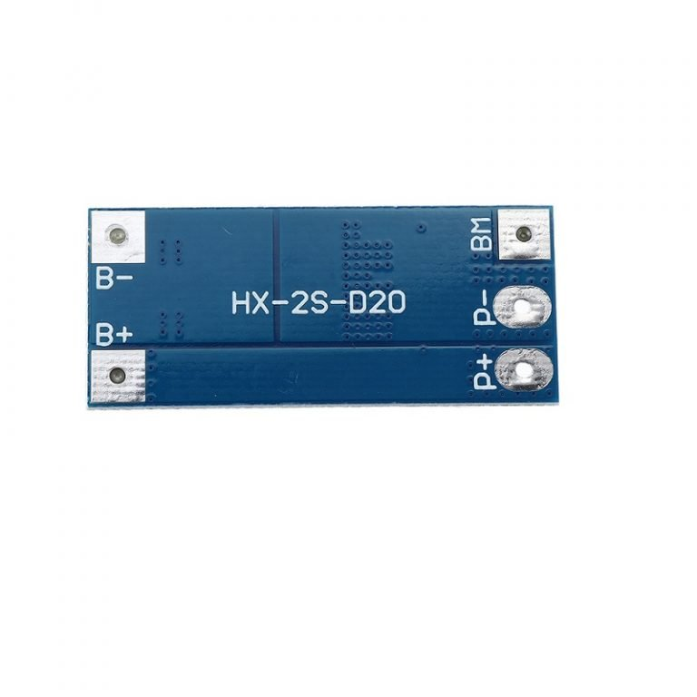 2S 20A 18650 Lithium Battery Protection Board