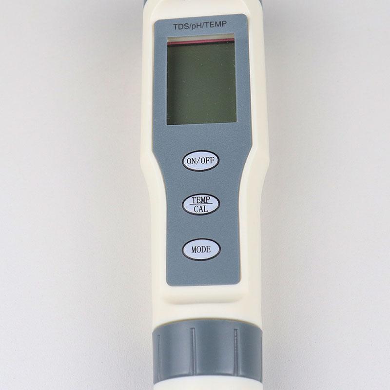 3 in 1 pH, TDS and Temperature Meter