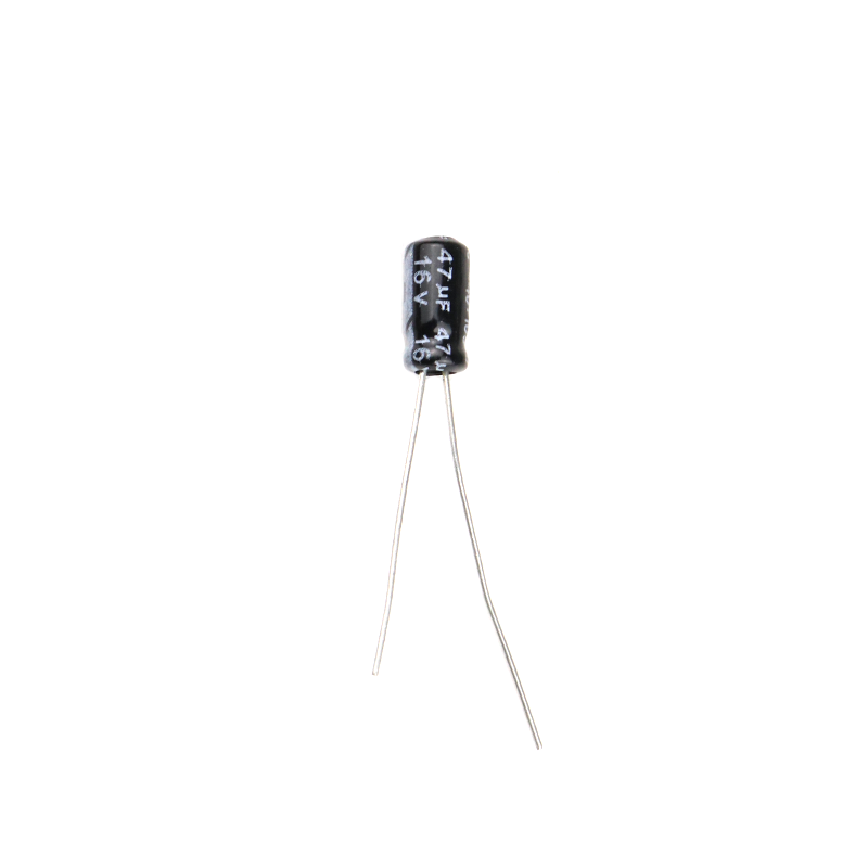 47 uF 16V Through Hole Electrolytic Capacitor (Pack of 40)