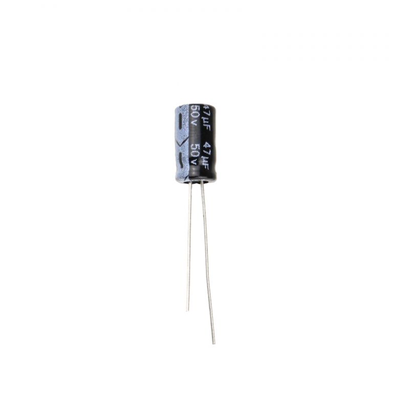47 uF 50V Through Hole Electrolytic Capacitor (Pack of 30)