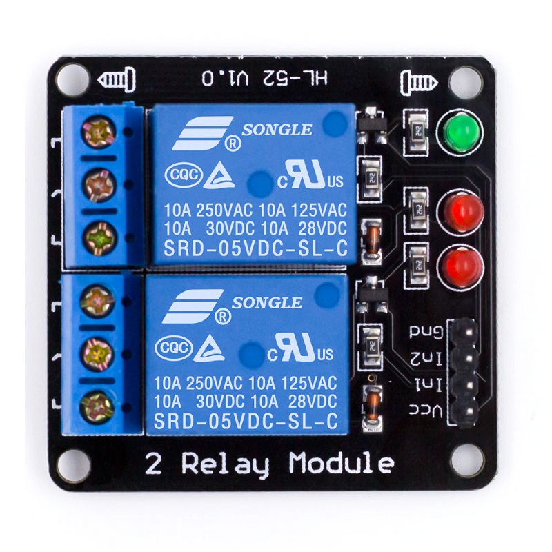 5V 2 Channel Relay Module