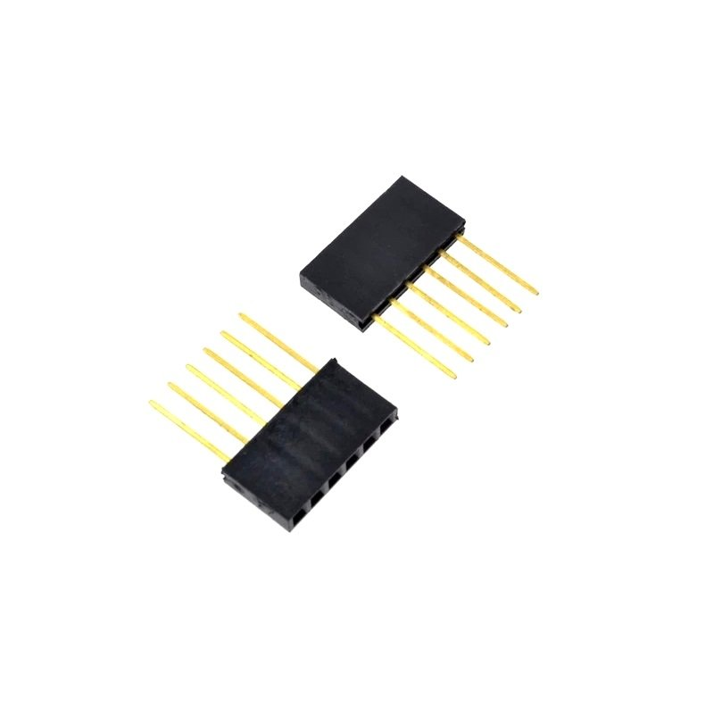 10pcs 4 Pin Female tall stackable Header Connector socket for Arduino Shield