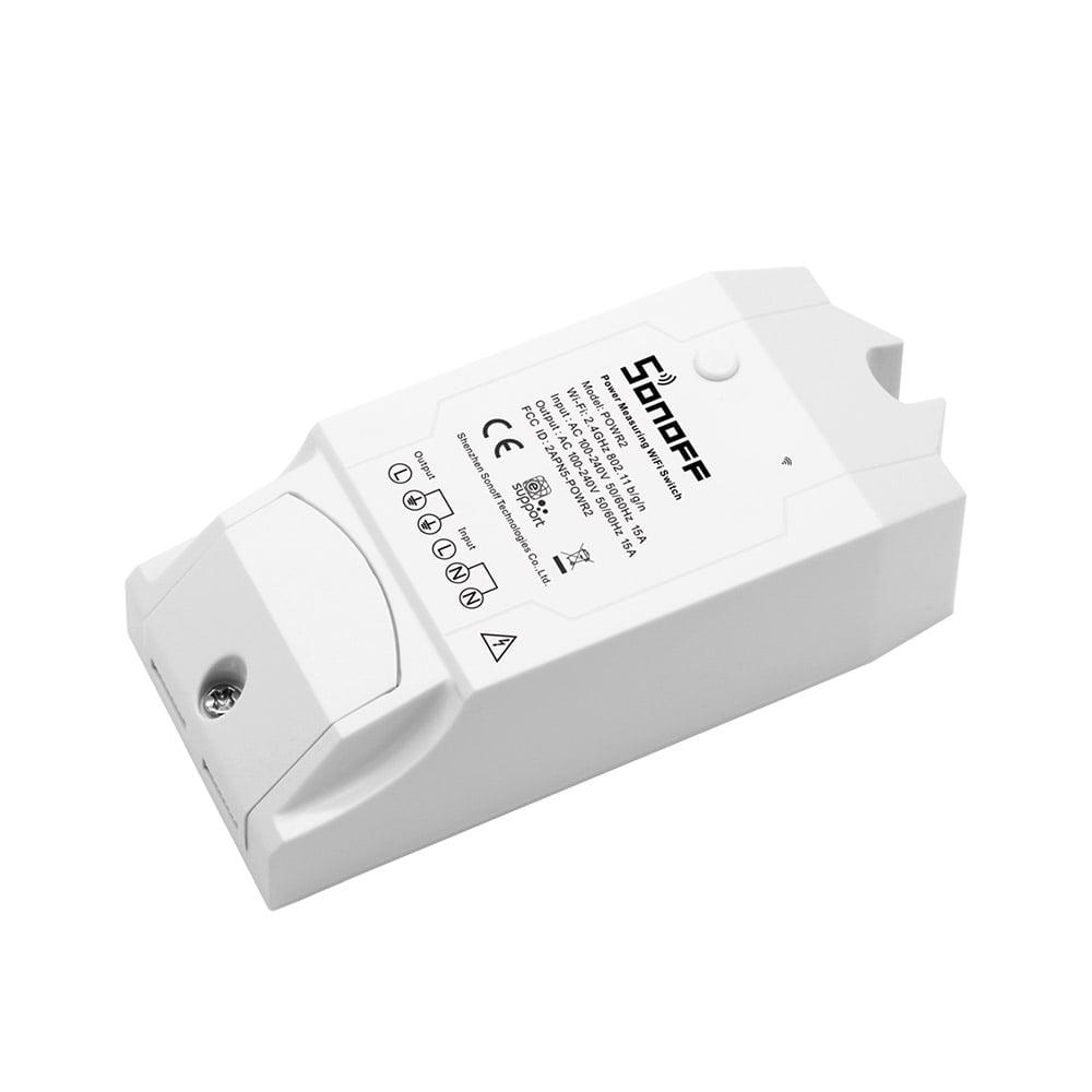 Sonoff Pow R2 Wifi Power Monitor Smart Switch