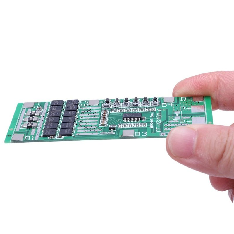 6S 40A 18650 Lithium Battery Protection Board
