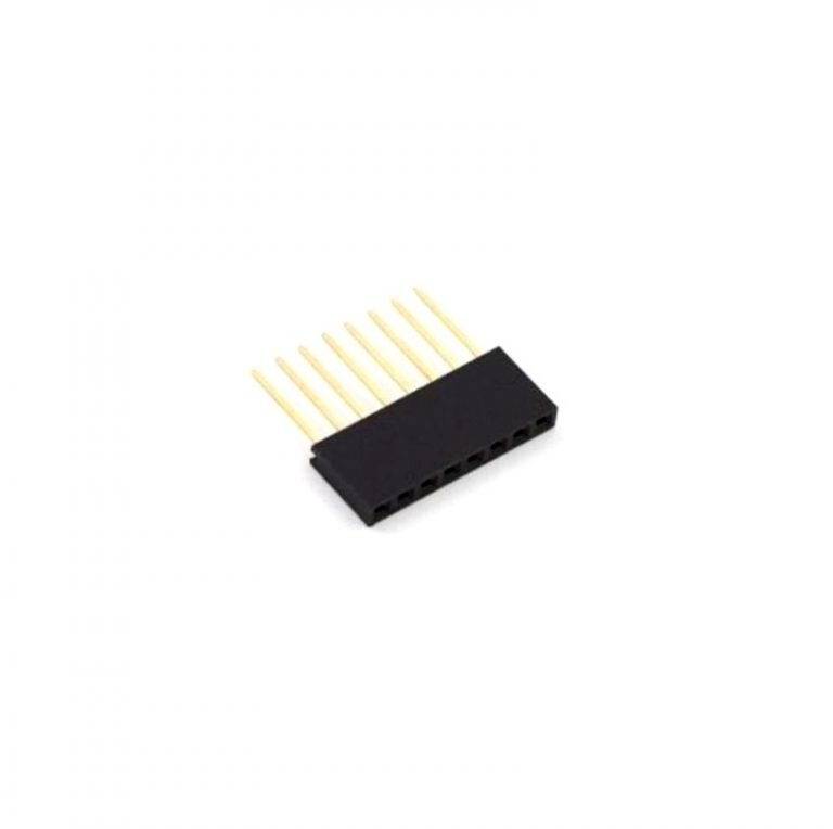 8 Pin Female 11mm tall stackable Header Connector for Arduino
