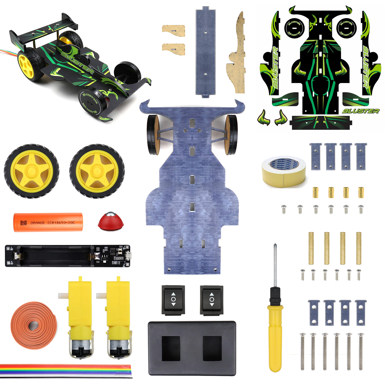 Bluster Beginner Kit (Wired Remote Control Robot)