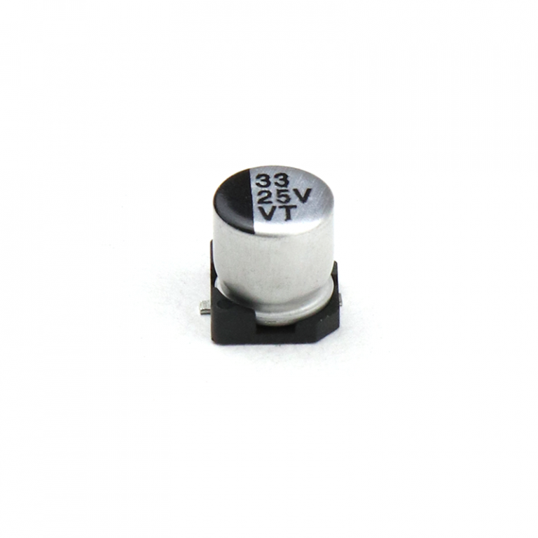 33 uF 25V Surface Mount Electrolytic Capacitor (Pack of 20)