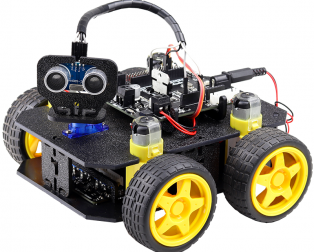 Cligo 4 WD Smart Intelligent DIY Robot Car Kit V1.0 for Kids
