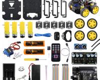 Cligo 4 WD Smart Intelligent DIY Robot Car Kit V1.0 for Kids
