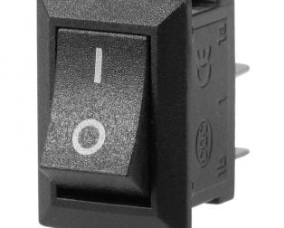 KCD11 AC 250V 3A 2 Pin SPST Snap in Mini Boat Rocker Switch