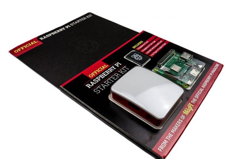 Official Raspberry Pi3 Model A+ Starter Kit