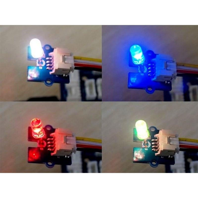 Grove - Multi Color Flash LED (5 mm)