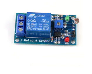 Photosensitive Resistance Sensor Relay Module