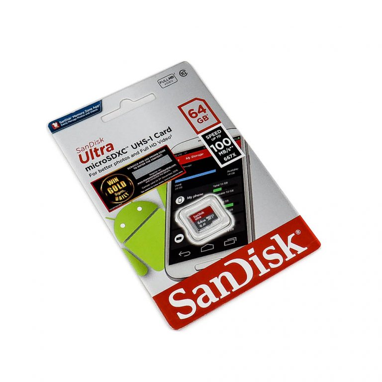 Sandisk Micro SDXC USH-I 64GB Class 10 Memory Card