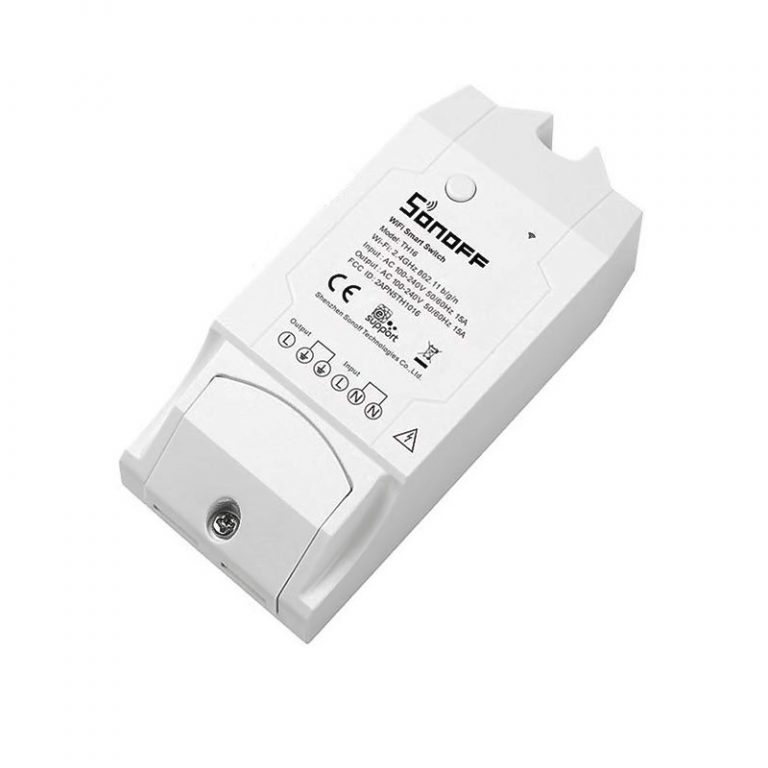 Sonoff TH16A Temperature and Humidity Monitoring WiFi Smart Switch