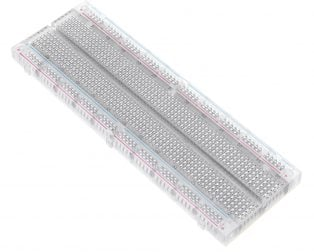 Transparent 830 Points Solderless Breadboard