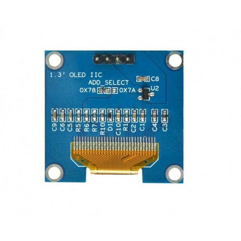 1.3 Inch I2C IIC OLED Display Module 4pin- WHITE