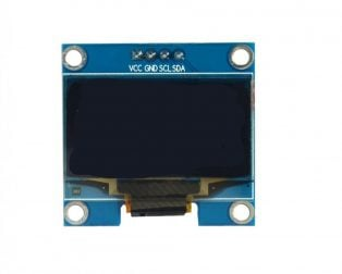 1.3 Inch I2C IIC OLED Display Module 4pin- WHITE