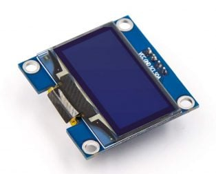 1.3 Inch I2C IIC OLED LCD Module 4pin (with VCC GND)-Blue