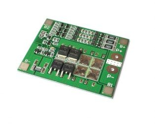 3S 15A 18650 Lithium Battery Protection Board