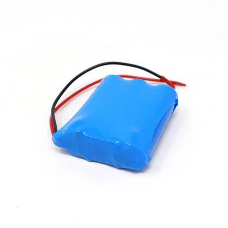 18650 Li-Ion 2500mAh 11.1v 3S1P Protected Battery Pack-3c