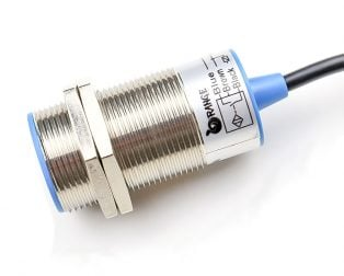 Orange 10mm NPN Inductive Proximity Sensor