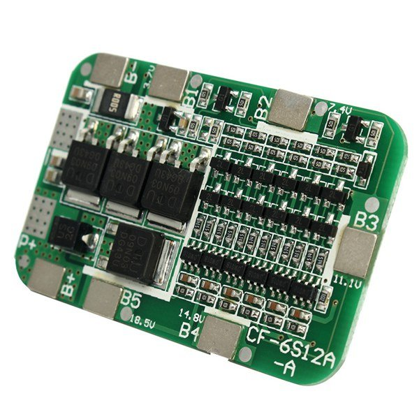 6S 25A 18650 Lithium Battery Protection Board