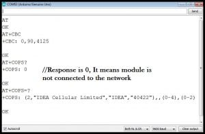 SIM800l AT commands