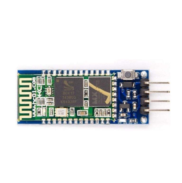 HC-05 4pin Bluetooth Module(MasterSlave) with Button