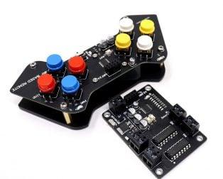 SmartElex Wireless Remote Control L293D Motor Driver