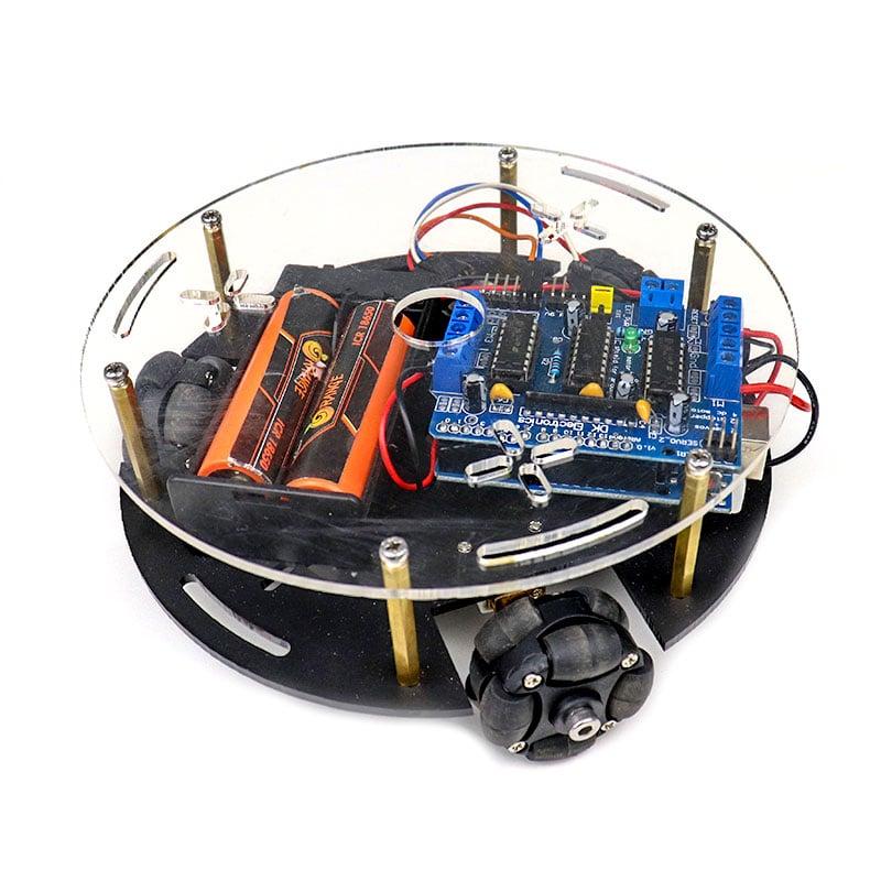 Poly Bluetooth Controlled Omni Wheel Robot Kit