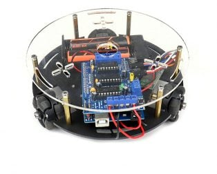 Poly Bluetooth Controlled Omni Wheel Robot Kit