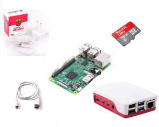 Raspberry Pi 4 Model B 1GB Starter Kit