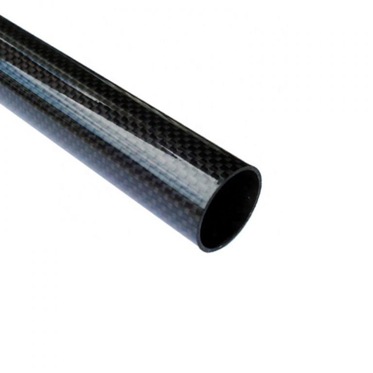 3K Roll-wrapped Carbon Fibre Tube (Hollow) 18mm(OD) * 16mm(ID) * 1000mm(L)