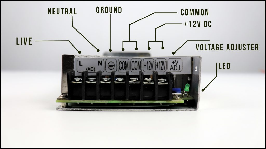 ports on a SMPS power supply