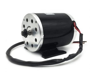 Electric Go-kart Brushed DC Motor with Foot MY1020 48V 1000W