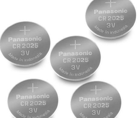 Panasonic CR2025 3V Lithium Coin Battery