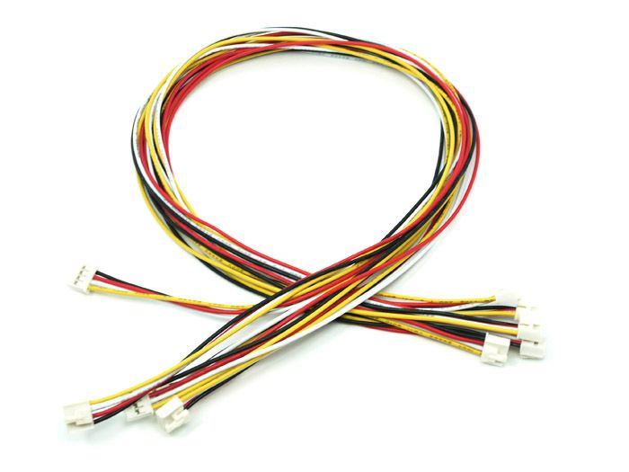 Grove - Universal 4 Pin Buckled 40cm Cable (Pack of 5)