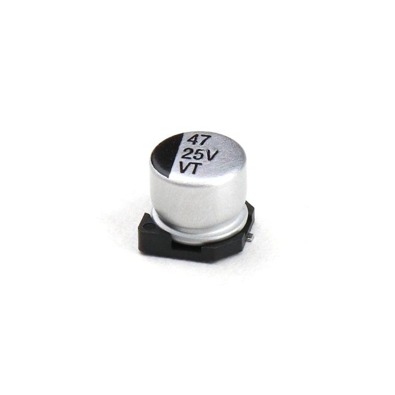 47uF 25V Surface Mount Electrolytic Capacitor