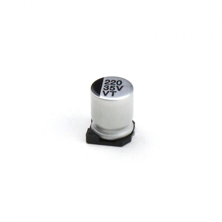 220uF 35V Surface Mount Electrolytic Capacitor