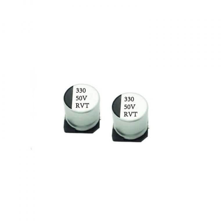 330uF 50V Surface Mount Electrolytic Capacitor