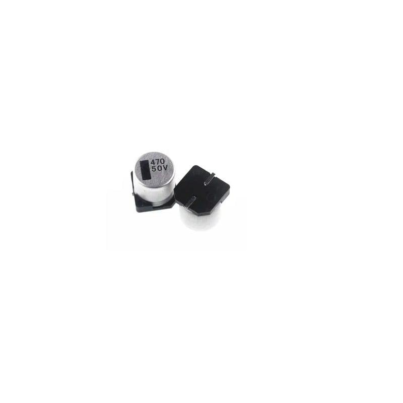 470uF 50V Surface Mount Electrolytic Capacitor