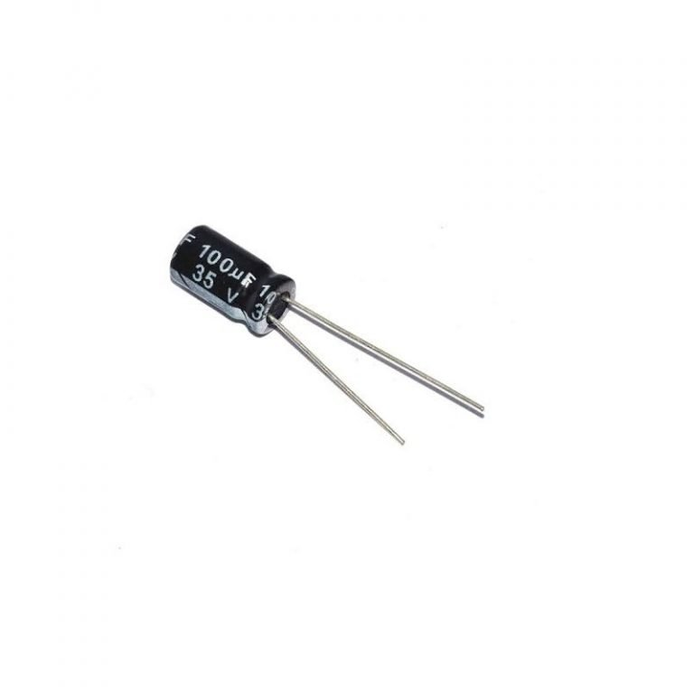 100uf 35V TH 6*7 Electrolytic Capacitor