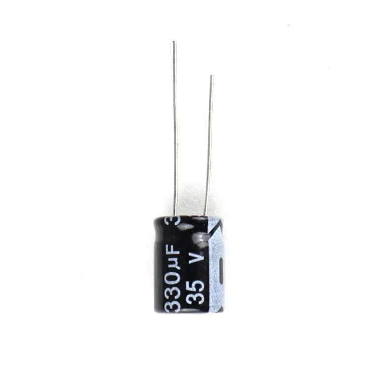 330uf 35V Through Hole 10x13 Electrolytic Capacitor