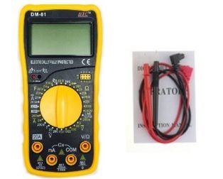 HTC DM 81 Digital Multimeter