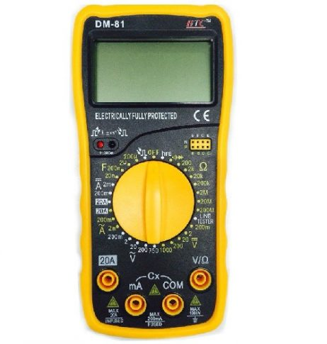 HTC DM 81 Digital Multimeter