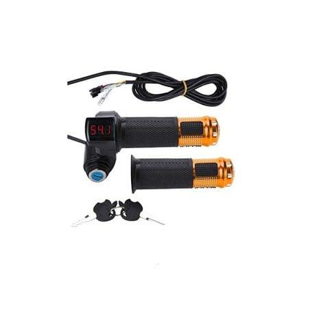 Digital Throttle with Key for Ebike